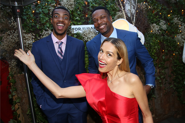 Destin Tucker, Petra Nemcova, and Chris Tucker