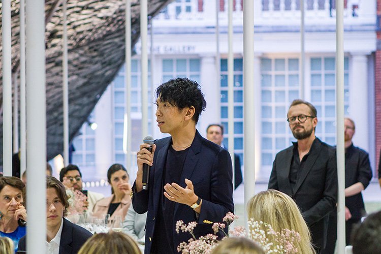 Junya Ishigami, 2019 Serpentine Pavilion Architect speaking Serpentine Pavilion Celebrations
