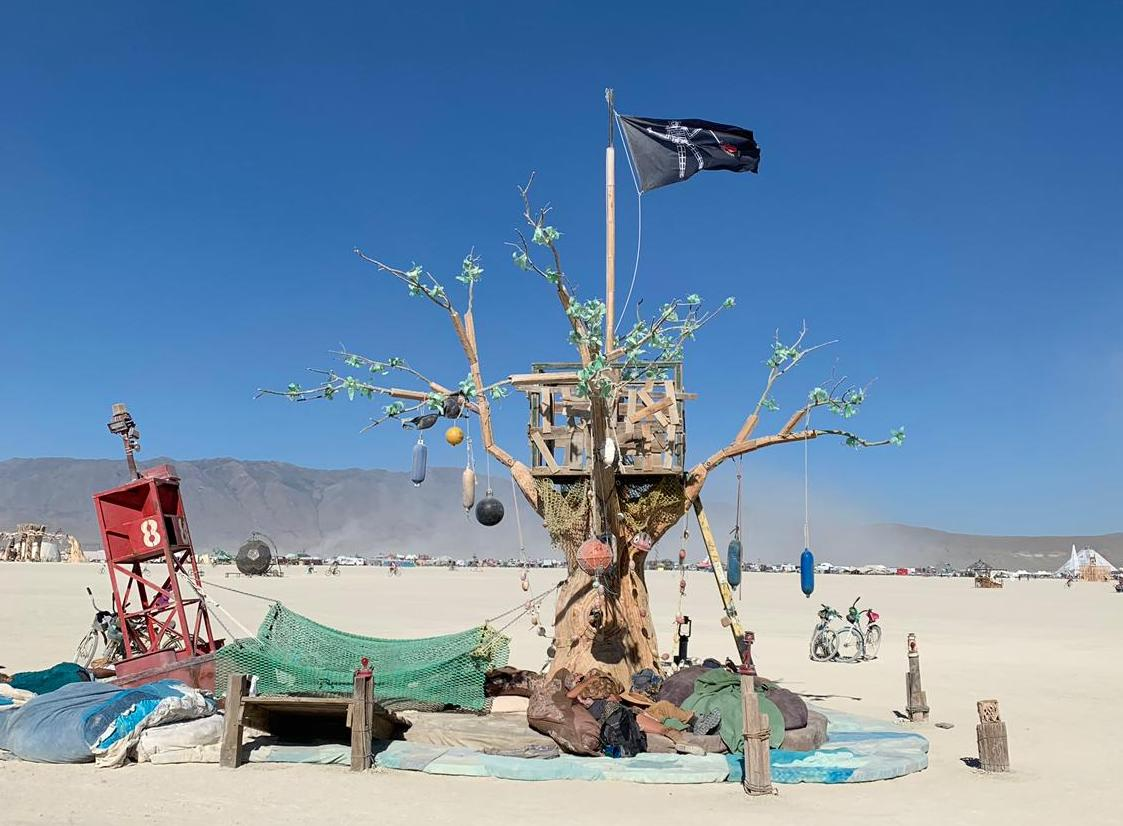 Lillian Heyward and the Island of Lost Buoys, Island of Lost Buoys (2019) at Burning Man