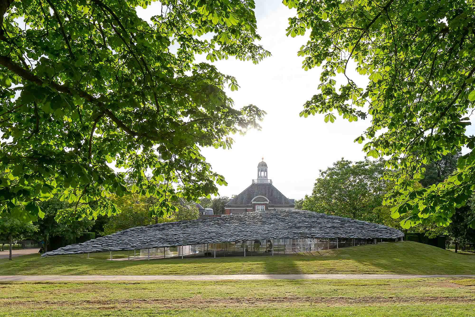The 2019 Serpentine Pavilion by Junya Ishigami