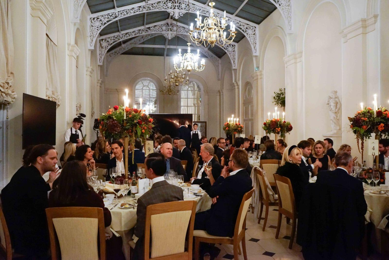 Therme Art celebrations at The Orangery in Blenheim Palace