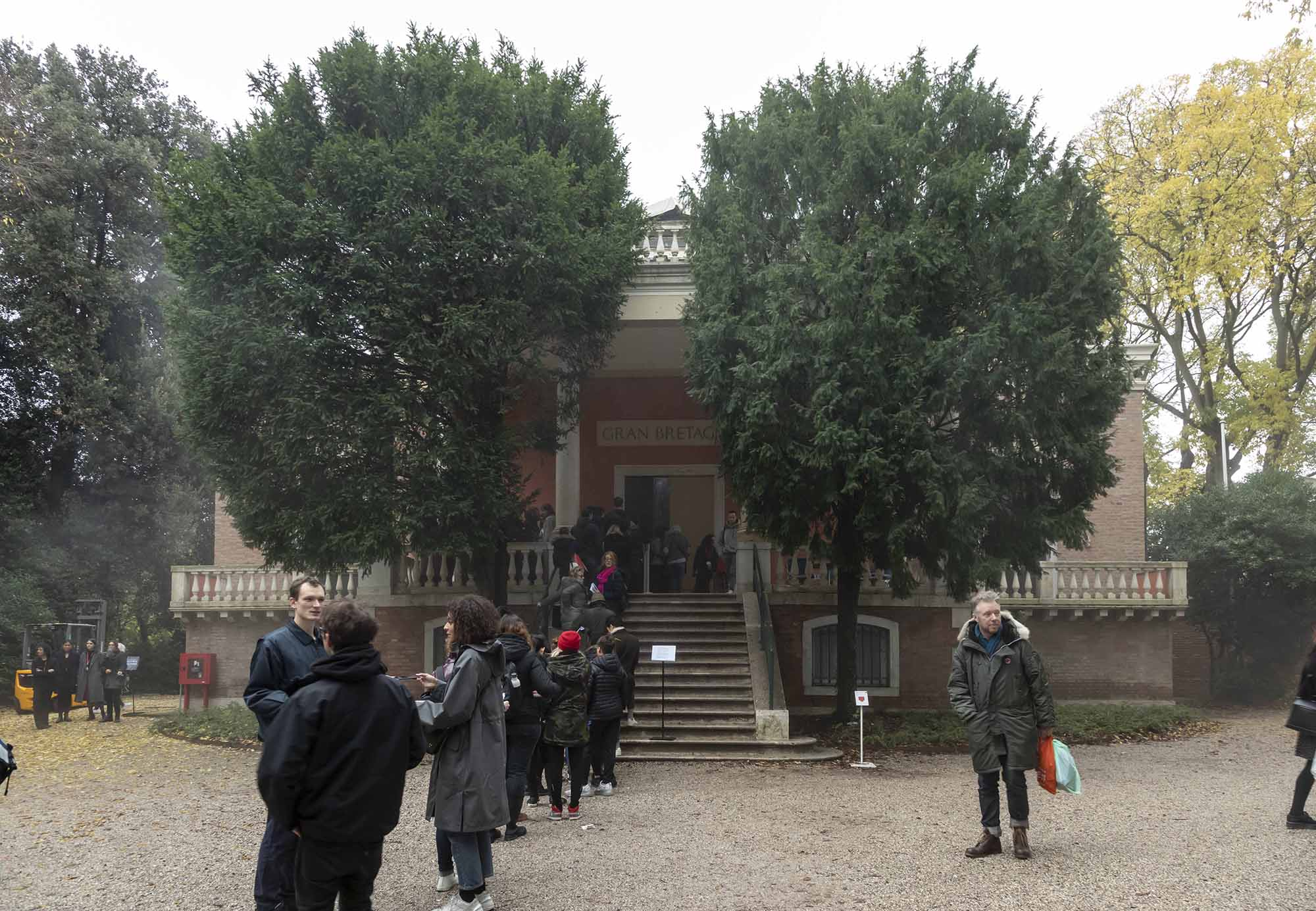 The British Pavilion during the 2019 Venice Biennale of Art