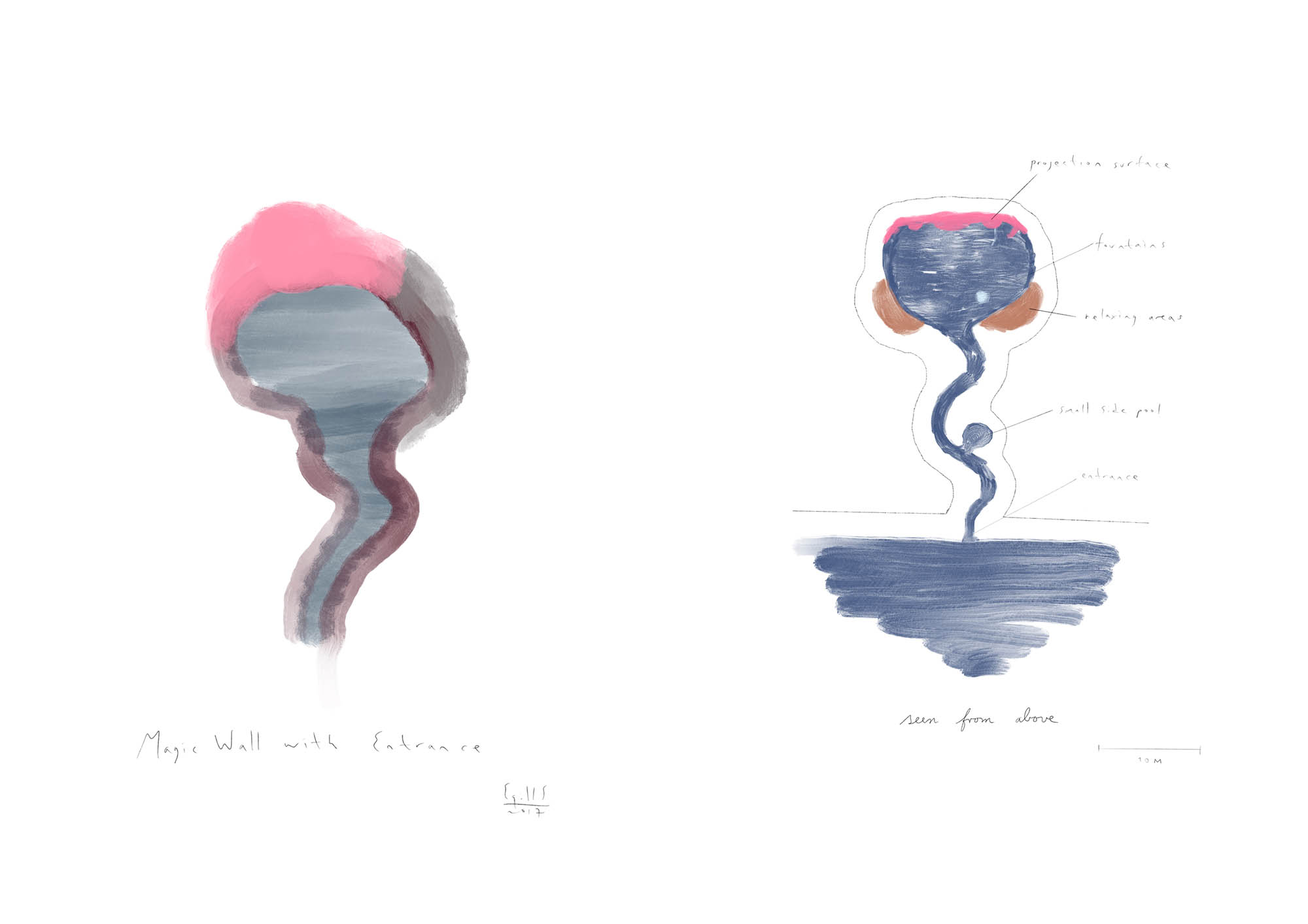 Egill Sæbjörnsson, The Mother (digital drawing, 2019)