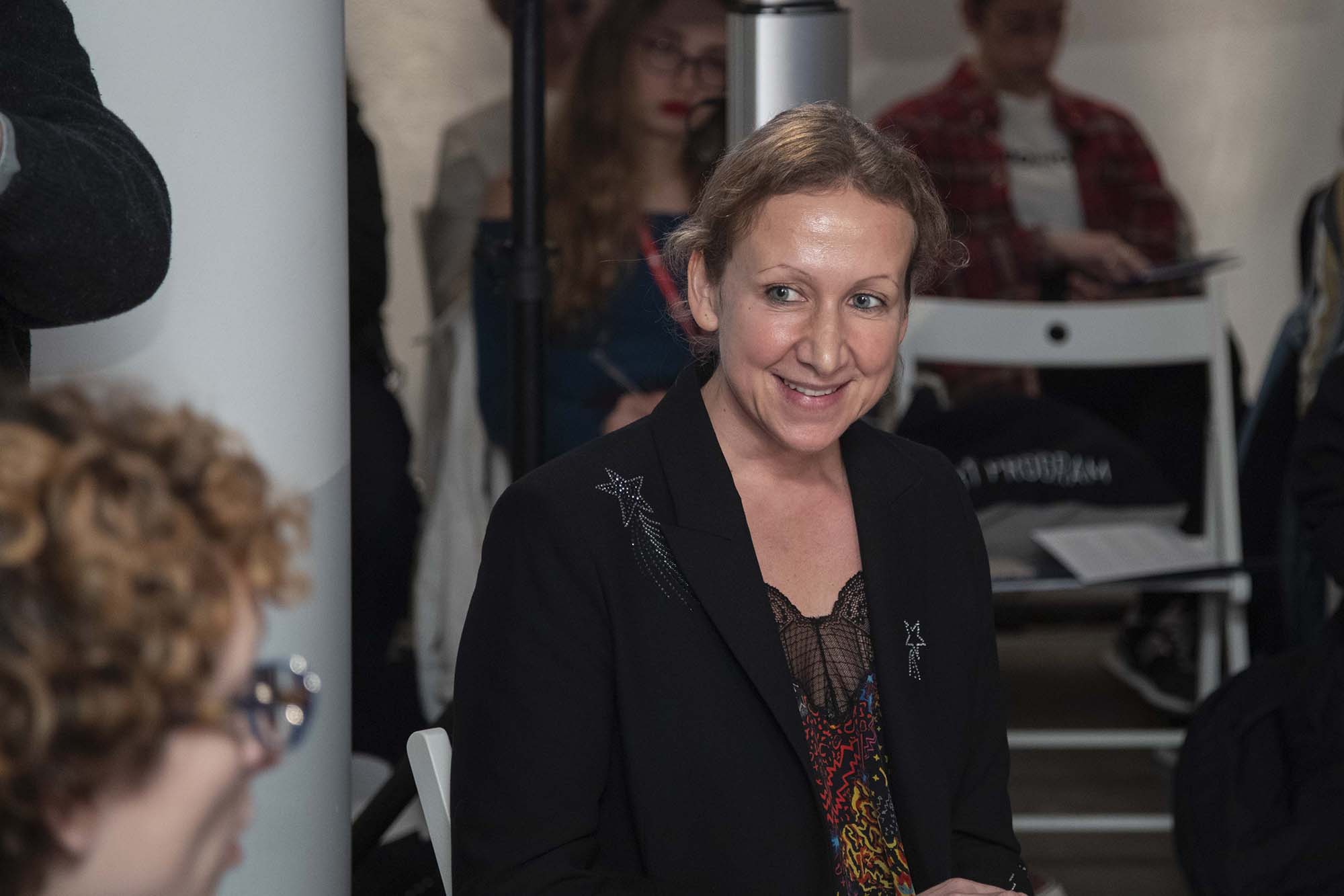 Claudia Paetzold during The Right to Refuse Therme Forum at British Pavilion during the 2019 Venice Biennale