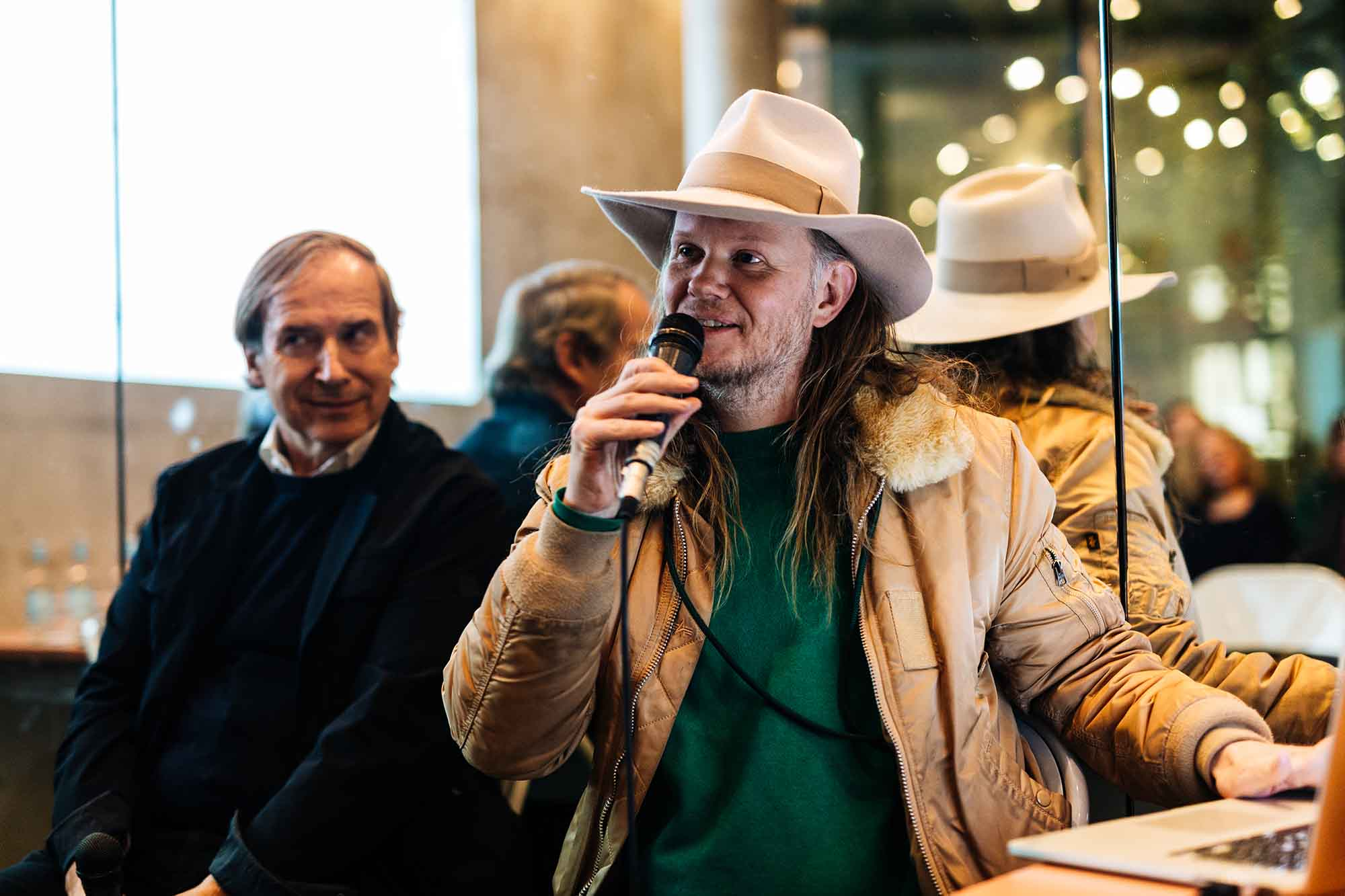 nd Mikolaj Sekutowicz at Cafe Bravo KW