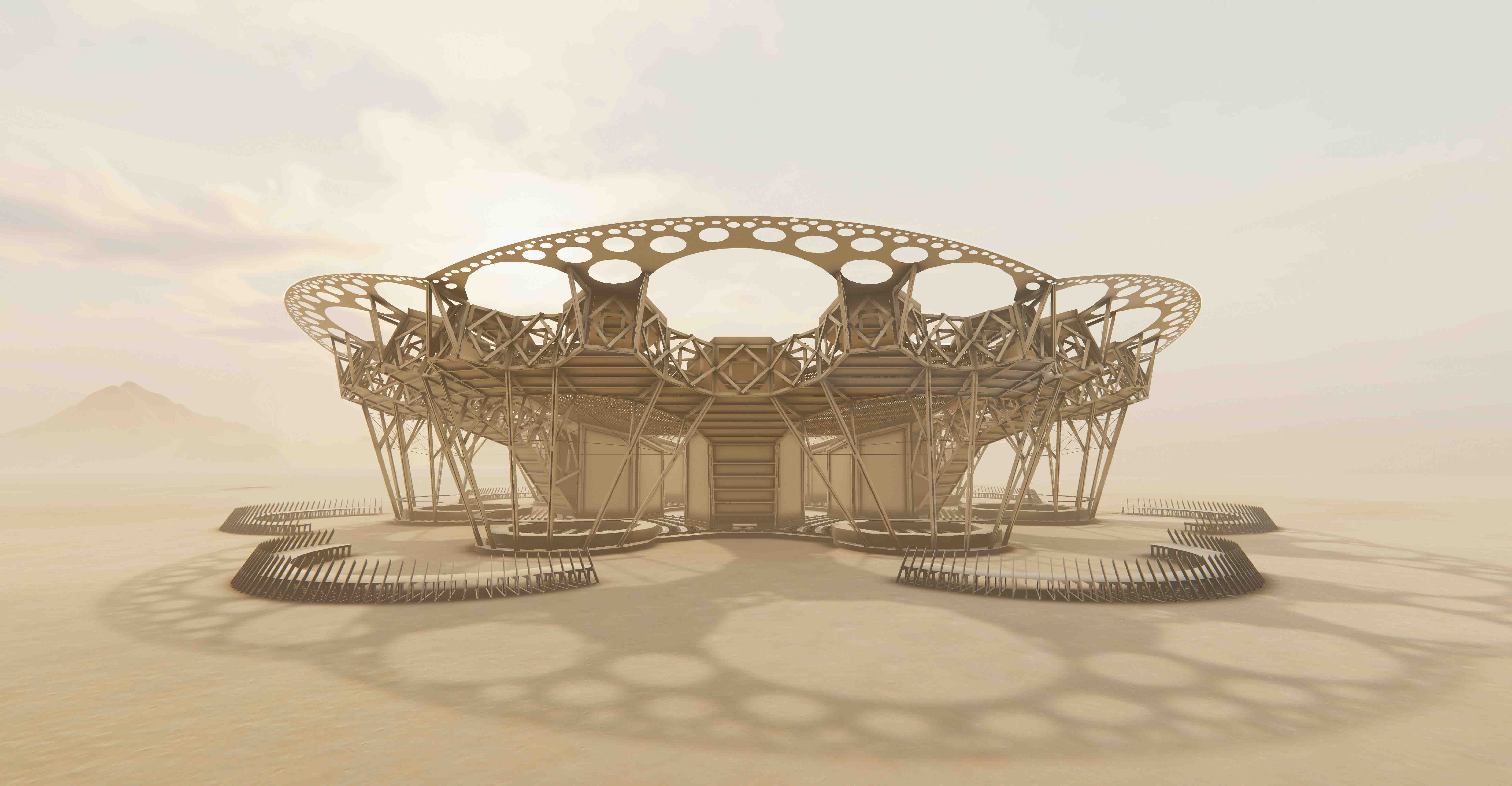 Catharsis by Architect Arthur Mamou-Mani in AltspaceVR